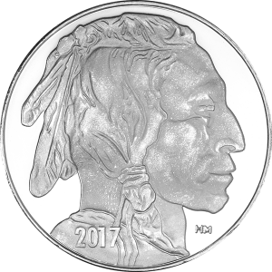 buffalo silver piece
