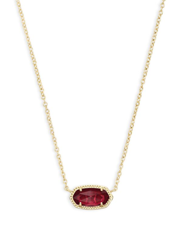 Elisa Gold Clear Berry Necklace