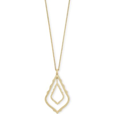 Simon Gold Metal Necklace