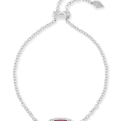 Elaina Rhodium Berry Illusion Bracelet