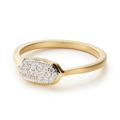 Isa Ring 14 Karat Yellow Gold
