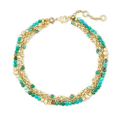 Scarlet Delicate Brc Gold Turquoise