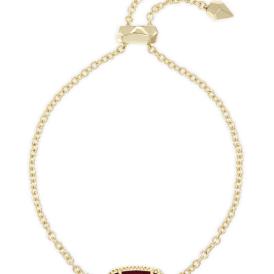 Elaina Gold Metal Clear Berry Bracelet