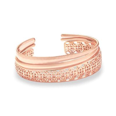 Tiana Rose Gold Filigree Bracelet