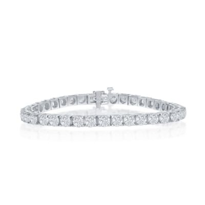 14K 10.02ctw Diamond Bracelet