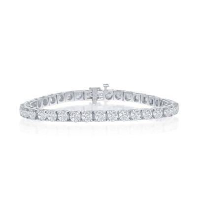 14K 10.02ctw Diamond Bracelet