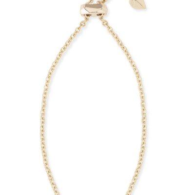 Elaina Gold Metal Rhodium Filigree Bracelet
