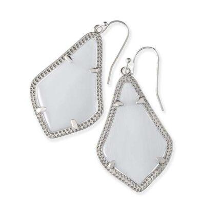 Alex Rhodium Slate Earrings
