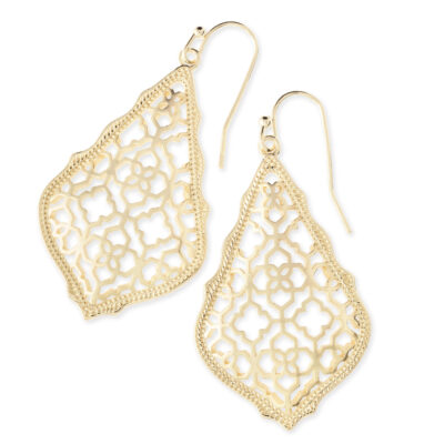 Addie Gold Metal Earrings