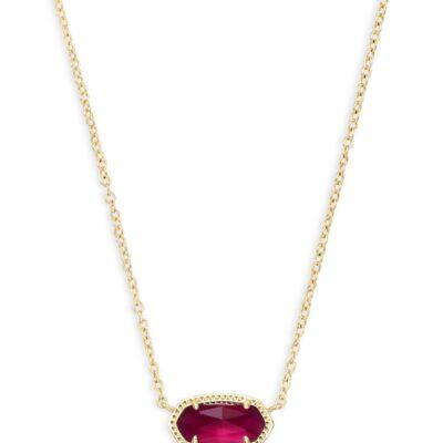 Elisa Gold Metal Berry Illusion Necklace