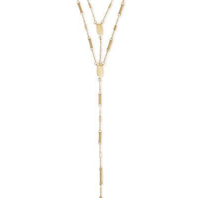 Adelia Gold Metal Necklace