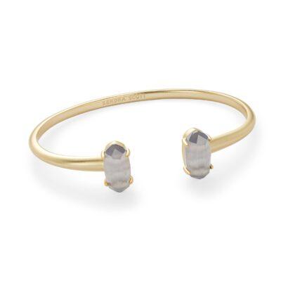 Edie Gold Metal Slate Bracelet