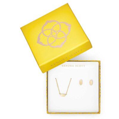 Gift Set Gold Metal Fern and Barrett