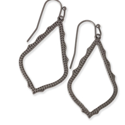 Sophia Gunmetal Earrings